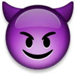 smiling face with horns emoji u 1f608