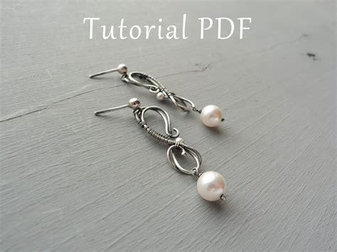 jewelry tutorials earrings jewelry tutorial diy project sterling silver earrings