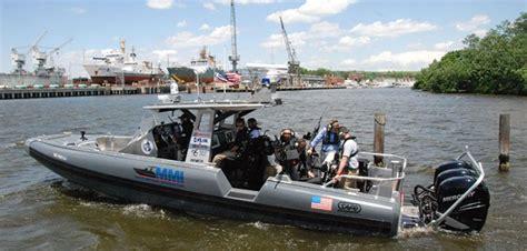 safe boats international safe boats debuts new 35 interceptor workboat