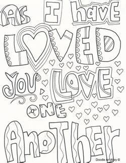 love one another lds coloring pages coloring pages