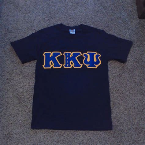 Black Shirt With Letters