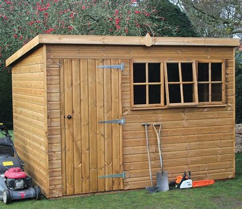 6ft X 8ft Shed by 8ft X 6ft Heavy Duty Pent Garden Shed Gardensite Co Uk