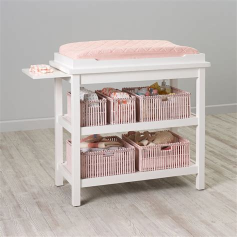 white change table baby changing tables the land of nod