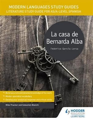 modern languages study guides b075wx55w2 modern languages study guides la casa de bernarda alba buy book online at boomerang books