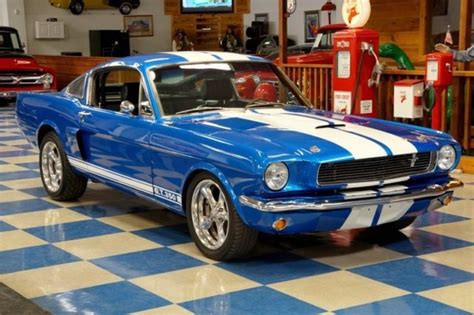 mustang blue and white 1965 mustang for sale in autos post