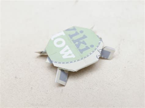 Dollar Bill Origami Turtle - how to make a turtle out of a dollar bill with pictures