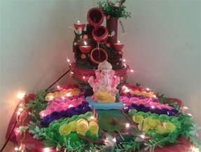 Homemade Decorations For Home decoration ideas for home ganpati discover diy ganpati decoration