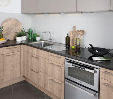 cuisine blanc casse et bois