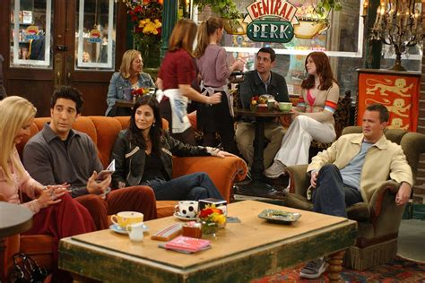 friends central perk themed cafe  opening