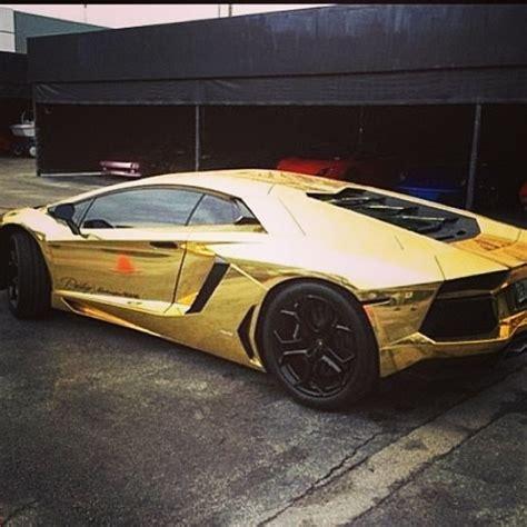 Goldener Lamborghini by Golden Lambo Cars Pinterest