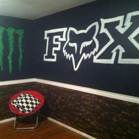 fox racing bedroom decor 1000 images about hayden s bedroom on pinterest