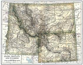 colorado wyoming map united states digital map library about