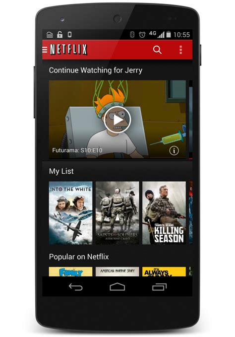 netflix app for android netflix finally adds profile support on android android central