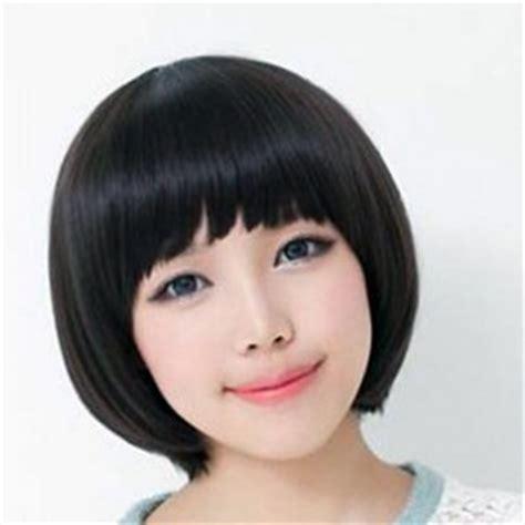 korean haircut for round face 2014 korean short hairstyle for young ladies korean short