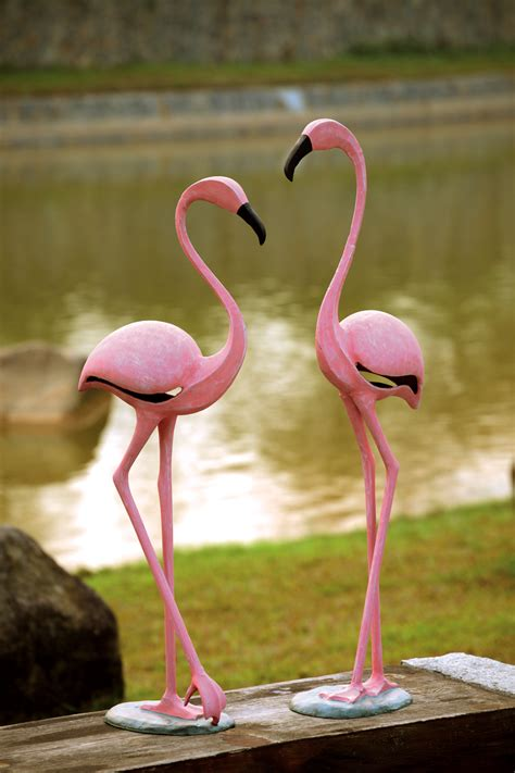 pink flamingo pair sculpture by spi home 484 you save