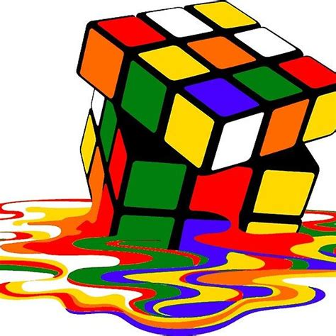 rubix cube colors melted rubik s rubix cube puzzle t shirt colors