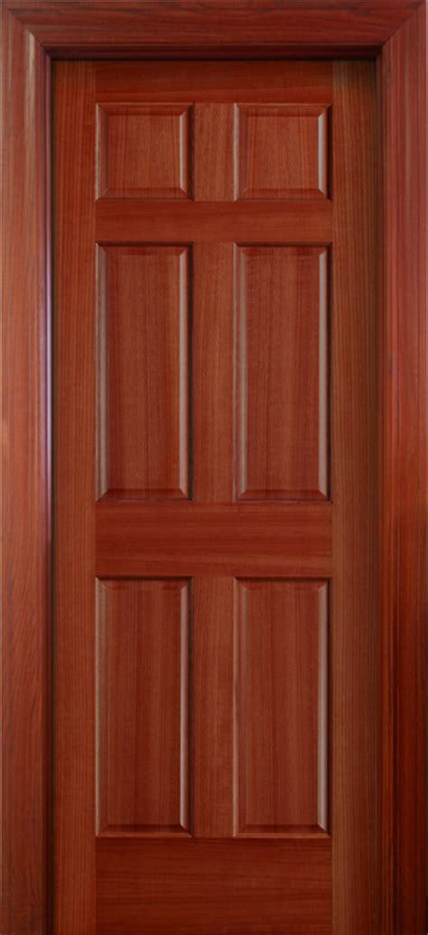 6 Panel Wood Doors by Panelled Doors 6 Panel Solid Wood Door Hpd112 Solid