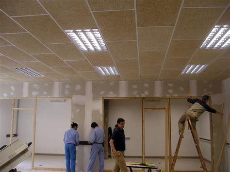techo acustico foto techo ac 250 stico de yesdecor 274365 habitissimo
