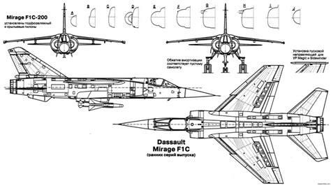 Free Rc Plans dassault mirage f1 8 plans aerofred download free