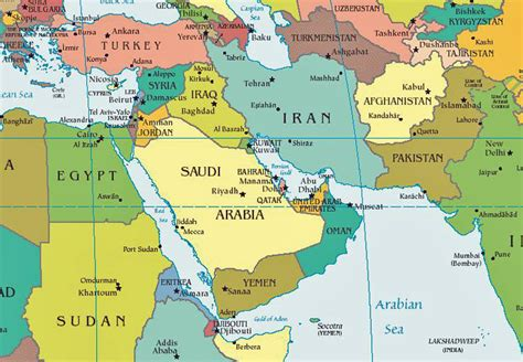 middle east map landforms middle east geography global issues mrs