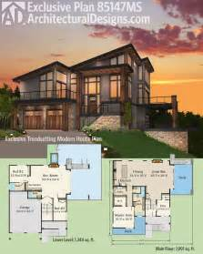 modern home floorplans the 25 best modern house plans ideas on