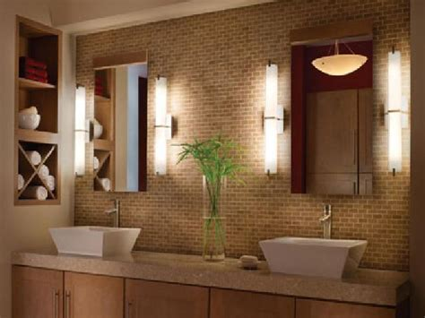 Bathroom Mirror And Lighting Ideas Bathroom Lighting