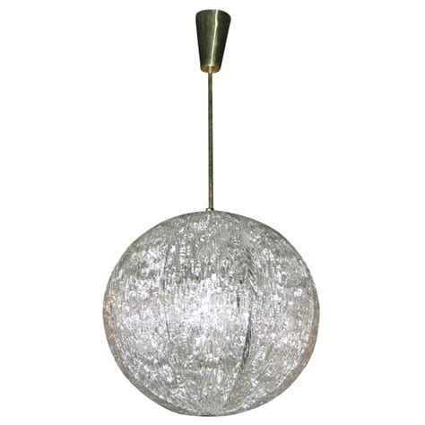 Crystal Sphere Chandelier At 1stdibs Sphere Chandelier With Crystals