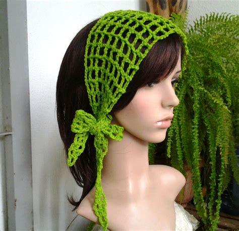 Handmade Hair Style - handmade style crochet hair band scarf in