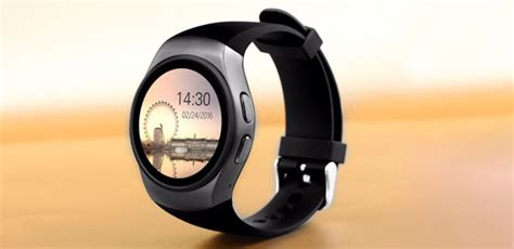 Kingwear Smartwatch Bluetooth For Ios And Android Kw18 Kingwear Smartwatch Bluetooth For Ios And Android Kw18 Black Jakartanotebook