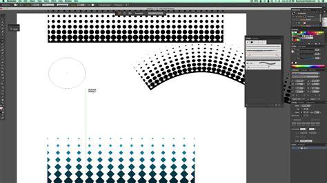 pattern brush gradient illustrator tutorial how to make vector halftone gradients brushes