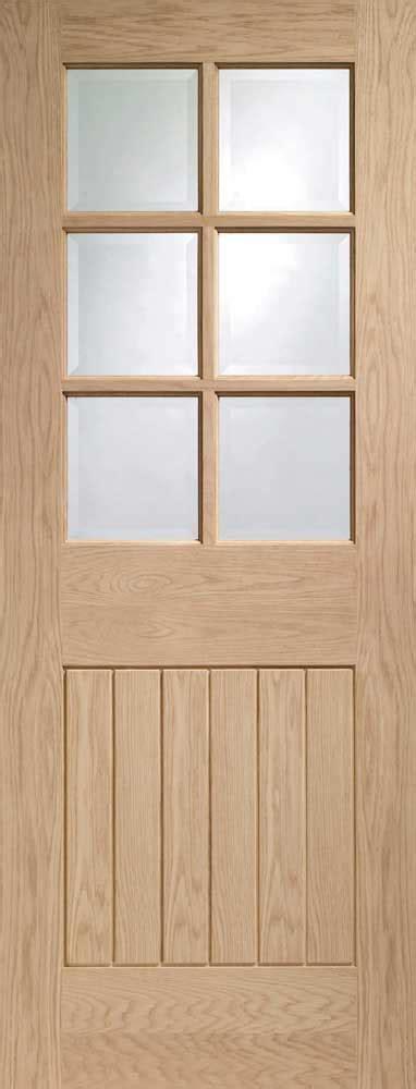 Half Glass Doors Interior Oak Mexicana Half Glass Doors