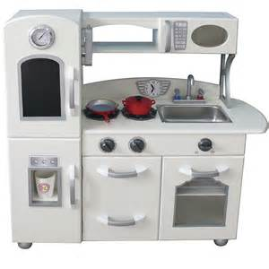 Home kitchen toys wooden toy kitchens teamson white country