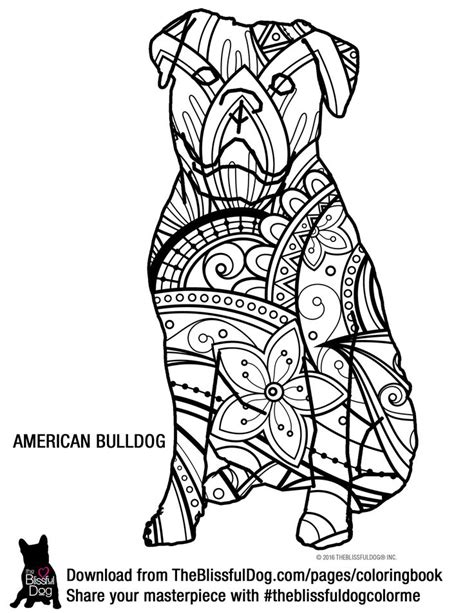 american bulldog coloring pages 74 best a coloring book pages images on pinterest