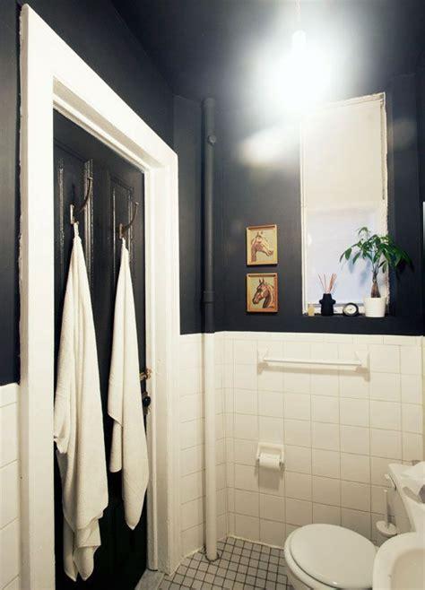 dark painted bathrooms black bathroom with high ceilings bathrooms pinterest