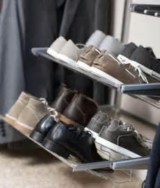 elfa gliding shoe shelf 60cm platinum home storage
