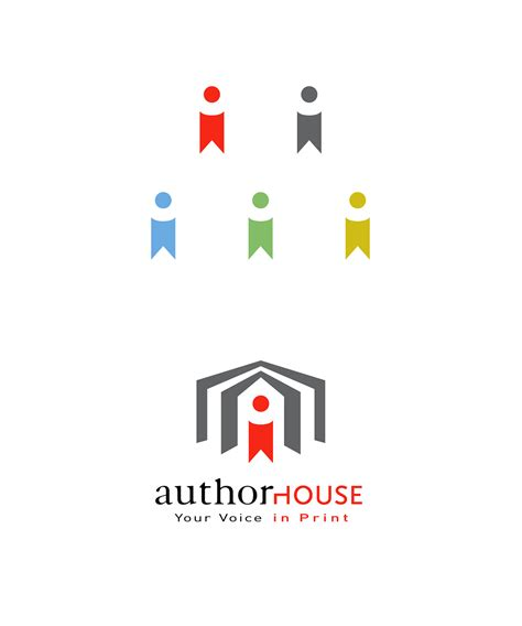 author house authorhouse rebrand on pratt portfolios