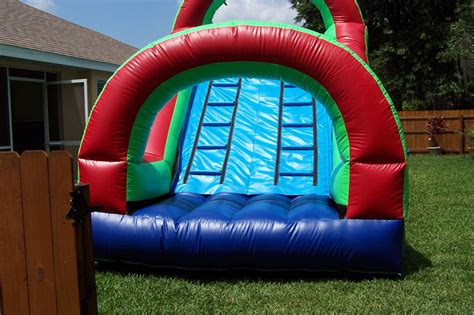 backyard water slides triyae backyard slide various design