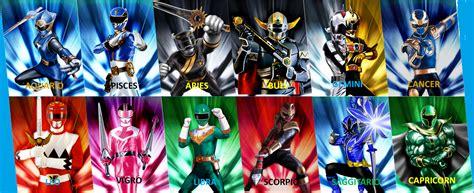 power rangers zodiac genetichero deviantart