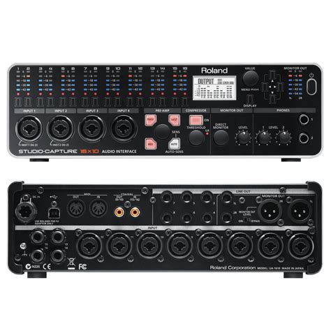 Usb Audio Capture roland studio capture usb 2 0 audio interface dv247