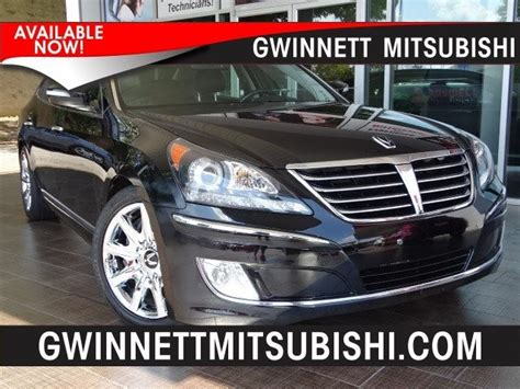 Gwinnett Mitsubishi 2013 Hyundai Equus Atlanta New Used Cars For Sale