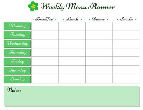 weekly menu weekly menu planner such a time as this