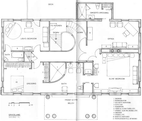 graceland floor plan of mansion inside graceland elvis presley gesellschaft