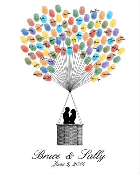 Easy Last Minute Decor Balloon Ceiling by 25 Best Ideas About Fingerprint Guest Books On
