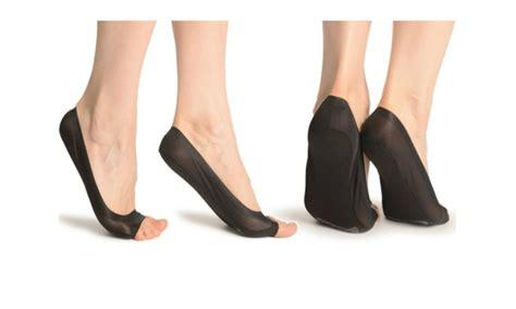 Heel Socks Open Toe s pairs of open toe heel socks groupon