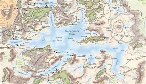 map of faerun underdark map forgotten realms images