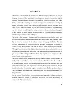 Culture Is Learned Essay by The Of The Culture In The Language Learning And Teaching