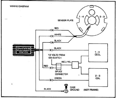 dyna 2000 ignition wiring diagram wiring diagram and