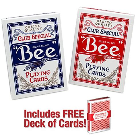 deck of cards buy 2 decks of premium bee cards blue with