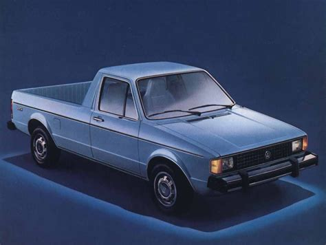 vw truck volkswagen rabbit pickup truck caddy restoration