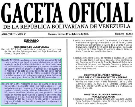 aument salaroal ffaa argentina 2016 gaceta oficial n 176 40 852 aumento sueldo 20 1 176 marzo 2016